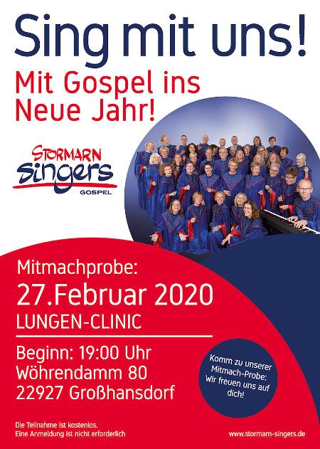 Plakat Mitmachprobe